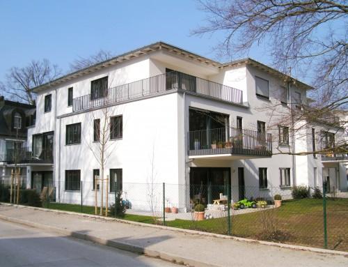 Neubau von 2 Mehrfamilienhäusern (15 WE) mit Tiefgarage
