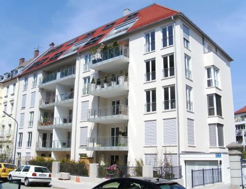 Neubau eines Mehrfamilienhauses (22 WE) mit Tiefgarage
