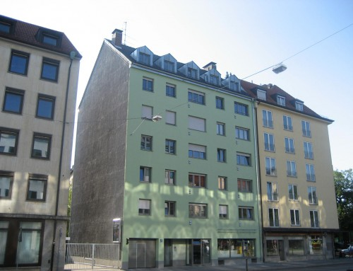 Energetische Sanierung eines Wohn- und Geschäftshauses