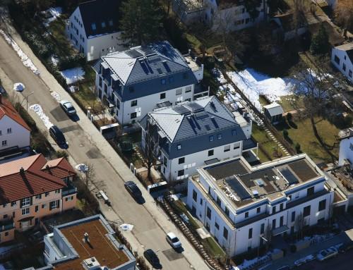 Neubau von 3 Mehrfamilienhäusern (16 WE) mit Tiefgarage