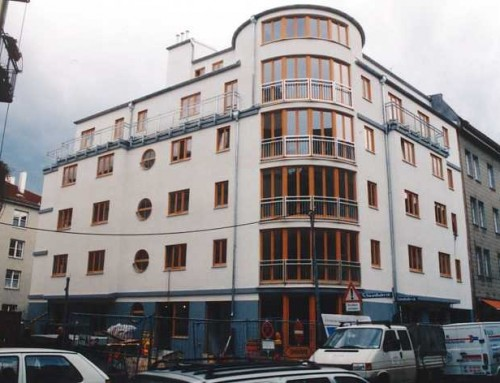 Neubau eines Wohn- und Geschäftshauses (17 WE und 2 GE) mit Tiefgarage