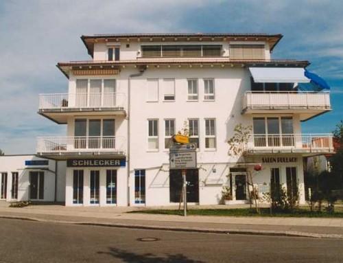 Neubau eines Wohn- und Geschäftshauses (5 WE und 3 GE) mit Tiefgarage