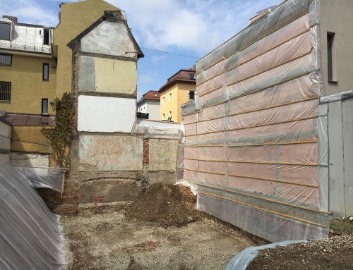 Neubau eines Mehrfamilienhauses (5 WE) mit Mehrfachparker