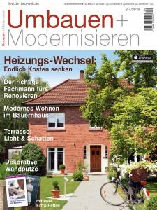 Umbau + Modernisieren